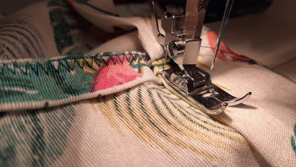 Zošívanie sukne